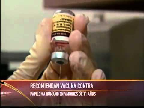 El CDC recomienda vacuna de papiloma para varones
