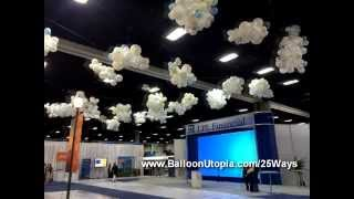 getlinkyoutube.com-How To Make Balloon Clouds?