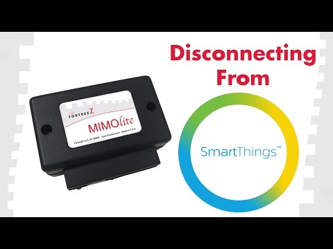 How to Exclude Devices From SmartThings: FortrezZ MIMOlite