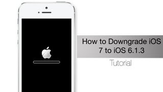 getlinkyoutube.com-Downgrade from iOS 7 to iOS 6.1.3 on your iPhone 4 using iFaith