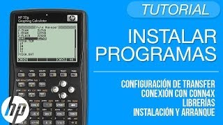 getlinkyoutube.com-Instalar programas en la HP desde la PC - Tutorial HP 50g