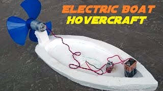 getlinkyoutube.com-How to Make an Electric Boat - Homemade Hovercraft