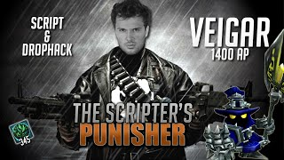 getlinkyoutube.com-Gagner contre le Script et le Drop Hack - Veigar Mid 1400 AP