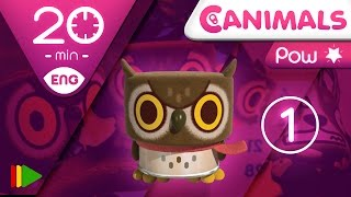 getlinkyoutube.com-Canimals | Collection 12 (Pow 1) | Full episodes for kids | 20 minutes