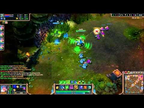 Las Pechugonas Ep 2 || Sona vs Fiddlesticks Uno para Todos League of Legends || con Der