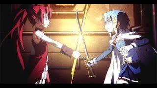 Madoka Magica: Sayaka vs Kyōko