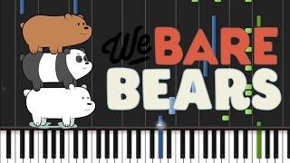 getlinkyoutube.com-We Bare Bears - Opening Theme [Synthesia Tutorial]