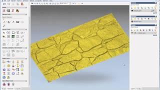 getlinkyoutube.com-Import grey scale bitmap relief into ArtCAM, artcam tutorial