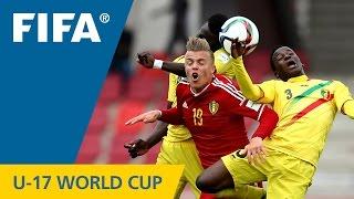 Highlights: Mali v. Belgium - FIFA U17 World Cup Chile 2015