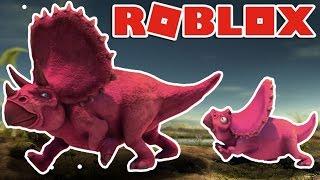 Roblox | SINH TỒN CÙNG KHỦNG LONG 3 SỪNG - Dinosaur Simulator | KiA Phạm