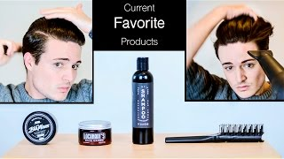 getlinkyoutube.com-My (current) Favorite Hair Products | Mens Hairstyling and Healthy Hair