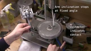 getlinkyoutube.com-DIY Faceting Machine - Head in Action