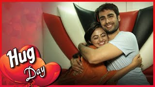 getlinkyoutube.com-Swara & Sanskaar aka SwaSan's Big Hug For Fans | Hug Day | Valentine's Week Special
