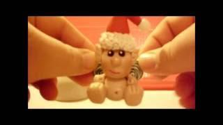 getlinkyoutube.com-Polymer Clay Christmas Ornaments Update
