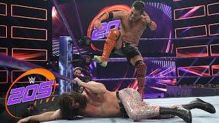 getlinkyoutube.com-Akira Tozawa vs. The Brian Kendrick: WWE 205 Live, Feb. 21, 2017