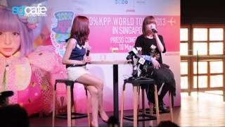 getlinkyoutube.com-100%Kpp World Tour 2013 in Singapore Press Event [Interview] 720p