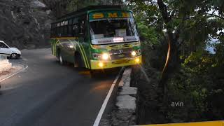 Most Dangerous Hairpin Curve Road   Agumbe Ghat