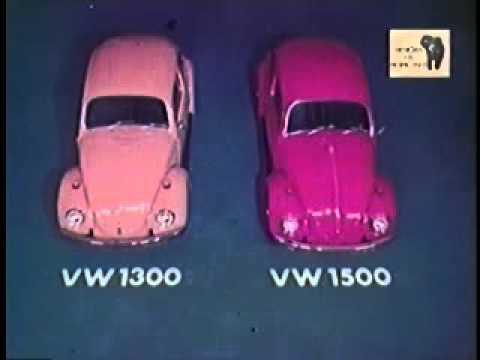 Volkswagen Fusca: Comercial Antigo anos 70 (Brasil)