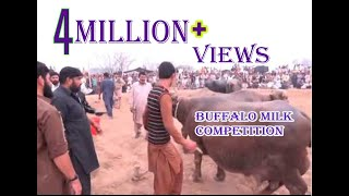 getlinkyoutube.com-Bbuffalo Milk Competition at baba motiana wali sarkar Jahangr Kalan(Part 2)
