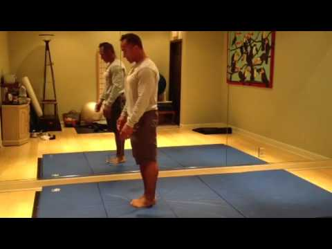Miles Stovall age 49 doing 5 standing tucks