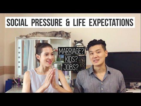 Social Pressure & Expectations : Jobs, Marriage, Kids etc. 누구나 겪는 사회 규범과 삶의 기대치 (졸업, 결혼 등) (자막 CC)