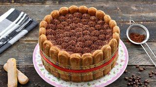 getlinkyoutube.com-Tort tiramisu cu ciocolata   JamilaCuisine
