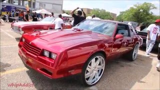 "getlinkyoutube.com-WhipAddict: Kandy Red Monte Carlo SS on 24"" Rucci Forged Affilatos, Custom Interior"