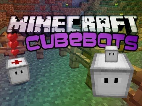 Minecraft: Cubebots  v1.1.1