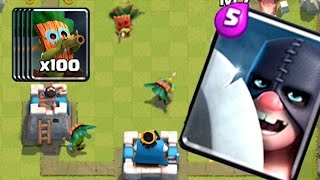 getlinkyoutube.com-100 DART GOBLINS PLUS EXECUTIONER COMING SOON | Clash Royale