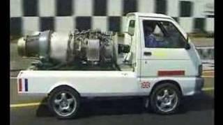 getlinkyoutube.com-Jet Powered Van