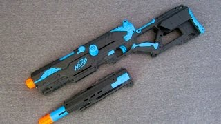 getlinkyoutube.com-[PROCESS] Nerf Longstrike Modification