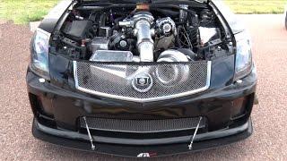 getlinkyoutube.com-101mm TURBO CTS-V - 1200hp Cadillac!!!