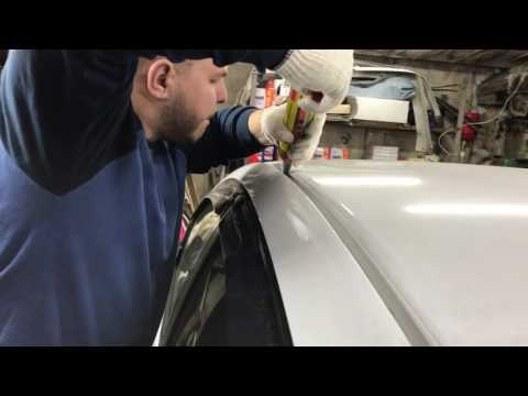 Как защитить молдинги на крыше Honda Insight