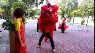 """2014新加坡贺岁电影""""狮神决战"""" 现场指導花絮之一"""
