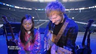 getlinkyoutube.com-Ed Sheeran überrascht Tiara aus Deutschland nach NYC