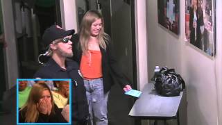 getlinkyoutube.com-justin Bieber security guard prank on The Ellen Show 17th march 2015