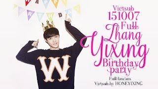 getlinkyoutube.com-[Vietsub] 151007 Zhang Yixing Birthday Party | Full [HONEYIXING]