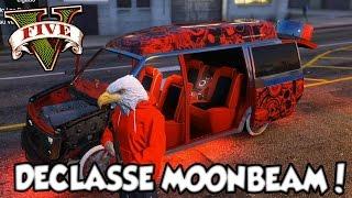 getlinkyoutube.com-GTA V - Meu Primeiro LOW RIDER Tunando o Declasse Moonbeam DLC LowRiders