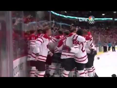 Sidney Crosby OT &quot;Golden&quot; Goal (2010 Winter Olympics)