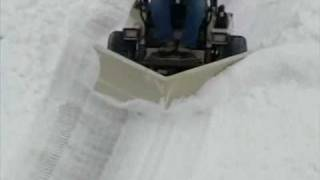 getlinkyoutube.com-V-Plow Snow Removal Attachment | Grasshopper Mowers