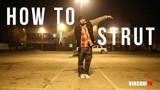 getlinkyoutube.com-How to Strut | Money B (Playboyz Inc) | Beginning Popping