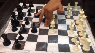 Best chess technique #Knight and bishop attack [Hindi] width=