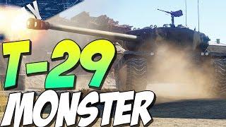 getlinkyoutube.com-T-29 MONSTER TANK - American Heavy Tank (War Thunder Tank Gameplay)