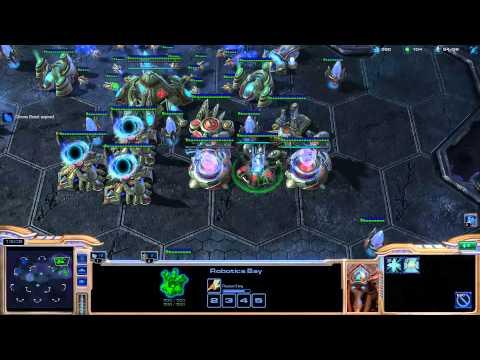 Minigun coaching Destiny on playing protoss [Game 3] - Starcraft 2