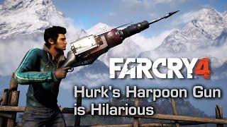 getlinkyoutube.com-Hurk's Harpoon Gun is Hilarious - Far Cry 4 Montage