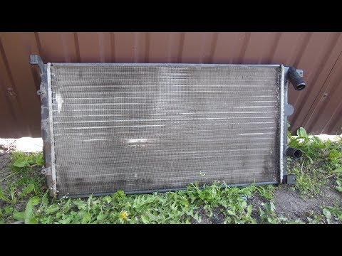 Радиатор Opel Movano