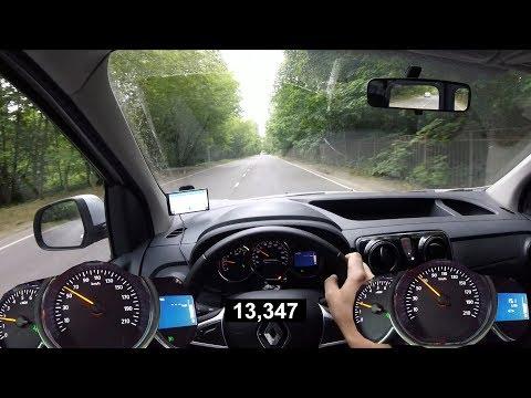 Renault Dokker с грузом - где твой мотор? Разгон 0 - 100 и эластичность