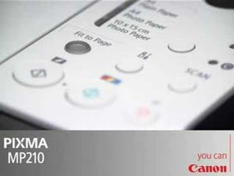 Canon MP210 - PIXMA Color Inkjet Support and Manuals