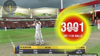 Wcc2 AUS VS PAK Matt Renshaw scored 3000 runs with wonderful strike rate