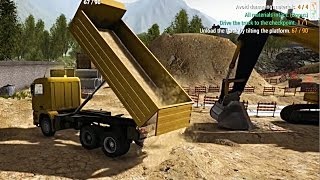 Construction Machines Simulator 2016 | Burying Pipes...